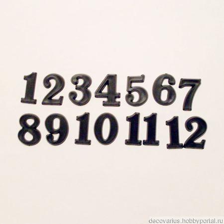 Накладные цифры  4101, 15 мм ручной работы на заказ