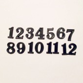 Накладные цифры  4103, 20 мм