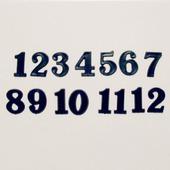 Накладные цифры  4105, 25 мм