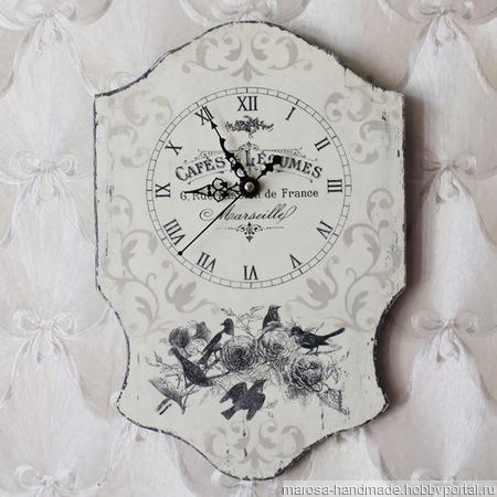 """Часы настенные """"Веронис"""" ручной работы на заказ"""