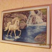 """Картина ручной работы """"Единорог"""""""