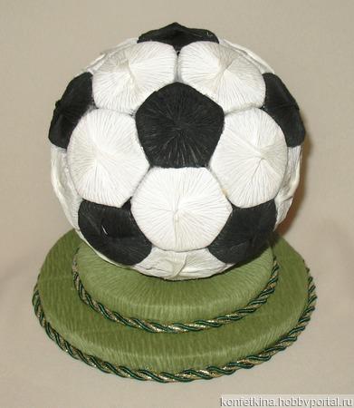 Мяч ручной работы на заказ