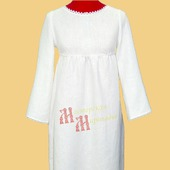 Платье льняное повседневное