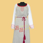 """Льняное женское платье """"Арина"""""""