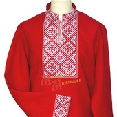 "Рубаха  ""Цветок папоротника и Алатырь"" ."