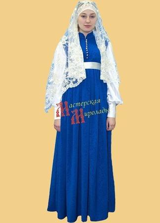 Платье некрасовской казачки  верхнее ручной работы на заказ