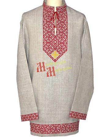 """Рубаха """"Духовная сила"""" ручной работы на заказ"""