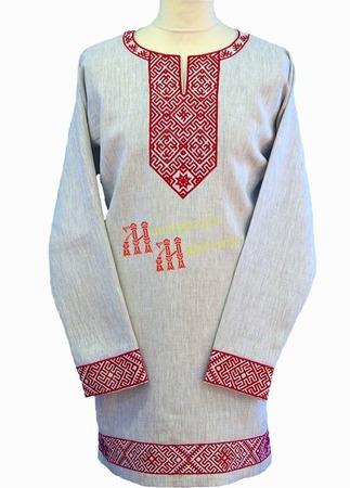 """Рубаха без ворота """"Сварог"""" ручной работы на заказ"""