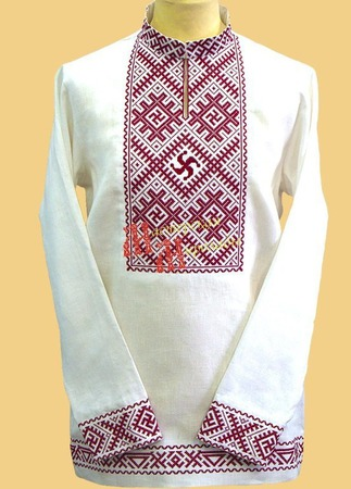 Рубаха свадебная ручной работы на заказ