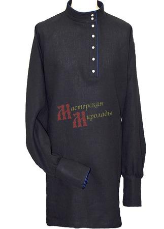 "Рубаха мужская ""Казачья"" с кантом ручной работы на заказ"
