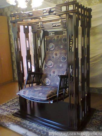 """Кресло-качели """"Самурай"""" ручной работы на заказ"""