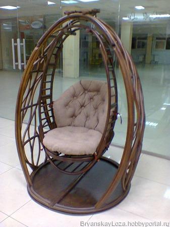 Кресло-качели КОКОН ручной работы на заказ