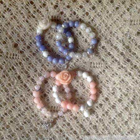 Браслеты из натуральных камней ручной работы на заказ