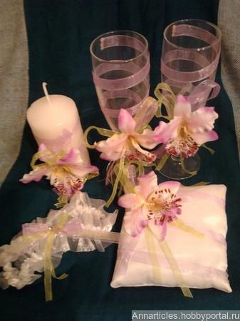 Орхидеи ручной работы на заказ