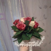 Букет для невесты из живых цветов
