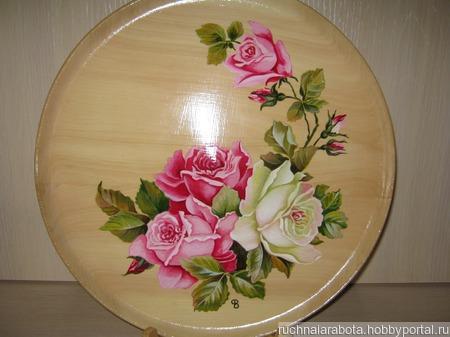 Тарелка ручной работы на заказ