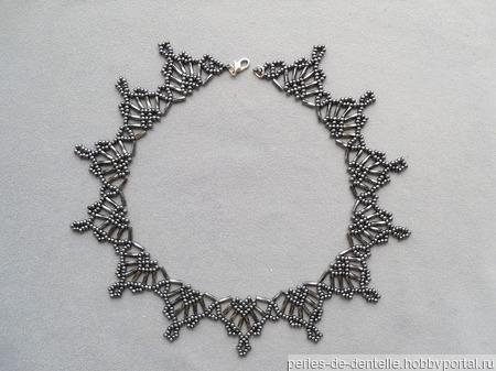 """Ожерелье """"Сердечки"""" ручной работы на заказ"""