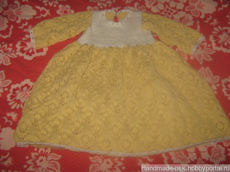 Платье для крестин ручной работы на заказ
