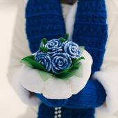 Букет зимней невесты