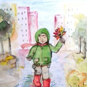 """Иллюстрация """"Осенние радости"""""""
