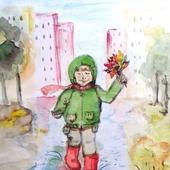 "Картина ""Осенние радости"""