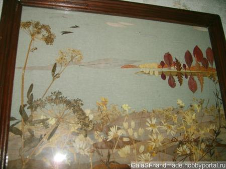 Панно флористическое ручной работы на заказ