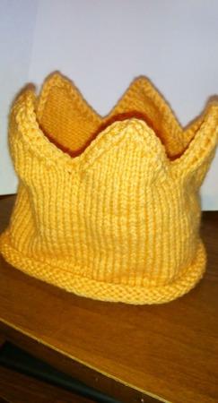 Повязка - корона для малышей ручной работы на заказ