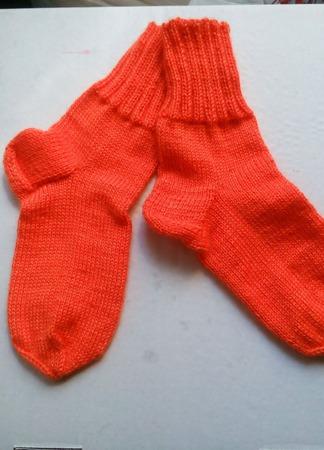 Носки рыжик ручной работы на заказ