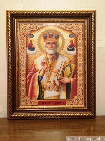 Святой Николай Чудотворец ручной работы на заказ