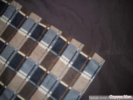 Ткань-плащевка на флисе ручной работы на заказ