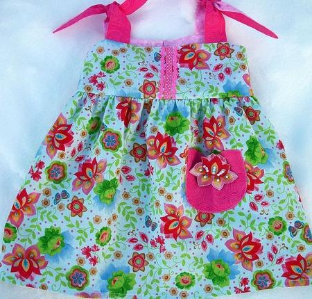 """Платье """"Аленький цветочек"""" ручной работы на заказ"""