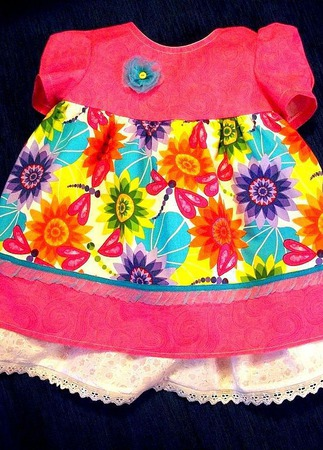 """Платье """"Вот оно какое это лето"""" ручной работы на заказ"""