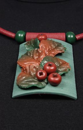 Комплект из полимерной глины ручной работы на заказ