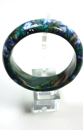 Бусы и браслет из полимерной глины ручной работы на заказ