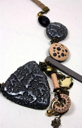 Коль из полимерной глины ручной работы на заказ