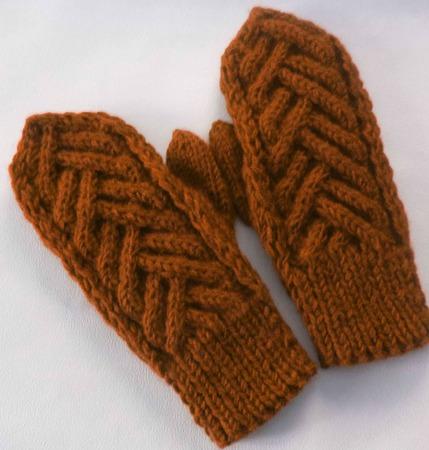 Варежки к зиме ручной работы на заказ