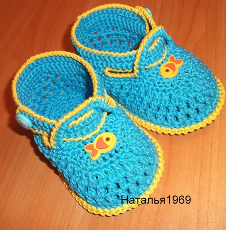 Пинетки - туфельки ручной работы на заказ