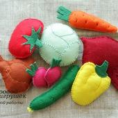 фото: Куклы и игрушки (еда из фетра)
