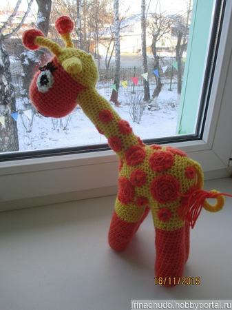 Солнечный жираф ручной работы на заказ