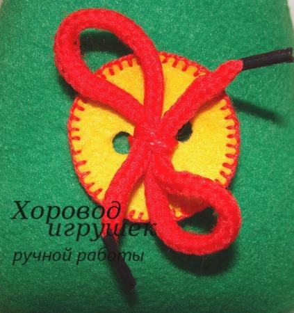 """Развивающая игрушка """"Ёлочка"""" с застёжками ручной работы на заказ"""