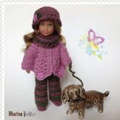 Осенний комплект для куклы