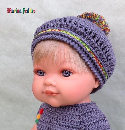 Летний комплект для куклы ручной работы на заказ
