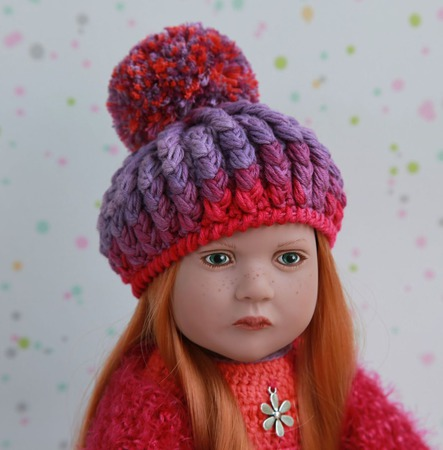 Ягодный микс. Комплект для куклы Zwergnase ручной работы на заказ