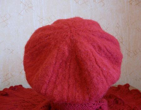 Беретик вязано-валяный ручной работы на заказ