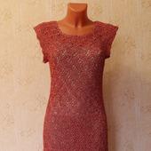 """Платье """"Красное в золоте"""""""