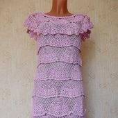 """Платье """"Розовые веера"""""""