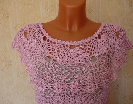 """Платье """"Розовые веера"""" ручной работы на заказ"""