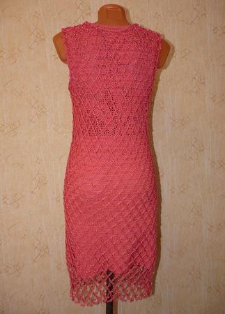 Платье с бусинами на заказ ручной работы на заказ