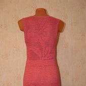Платье крючком с ажурной спинкой на заказ