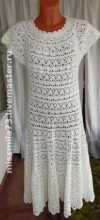 Платье в стиле 50-х на заказ ручной работы на заказ